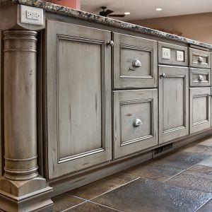 Kitchen Island Kitchen Cabinetry Kitchen Cabinets