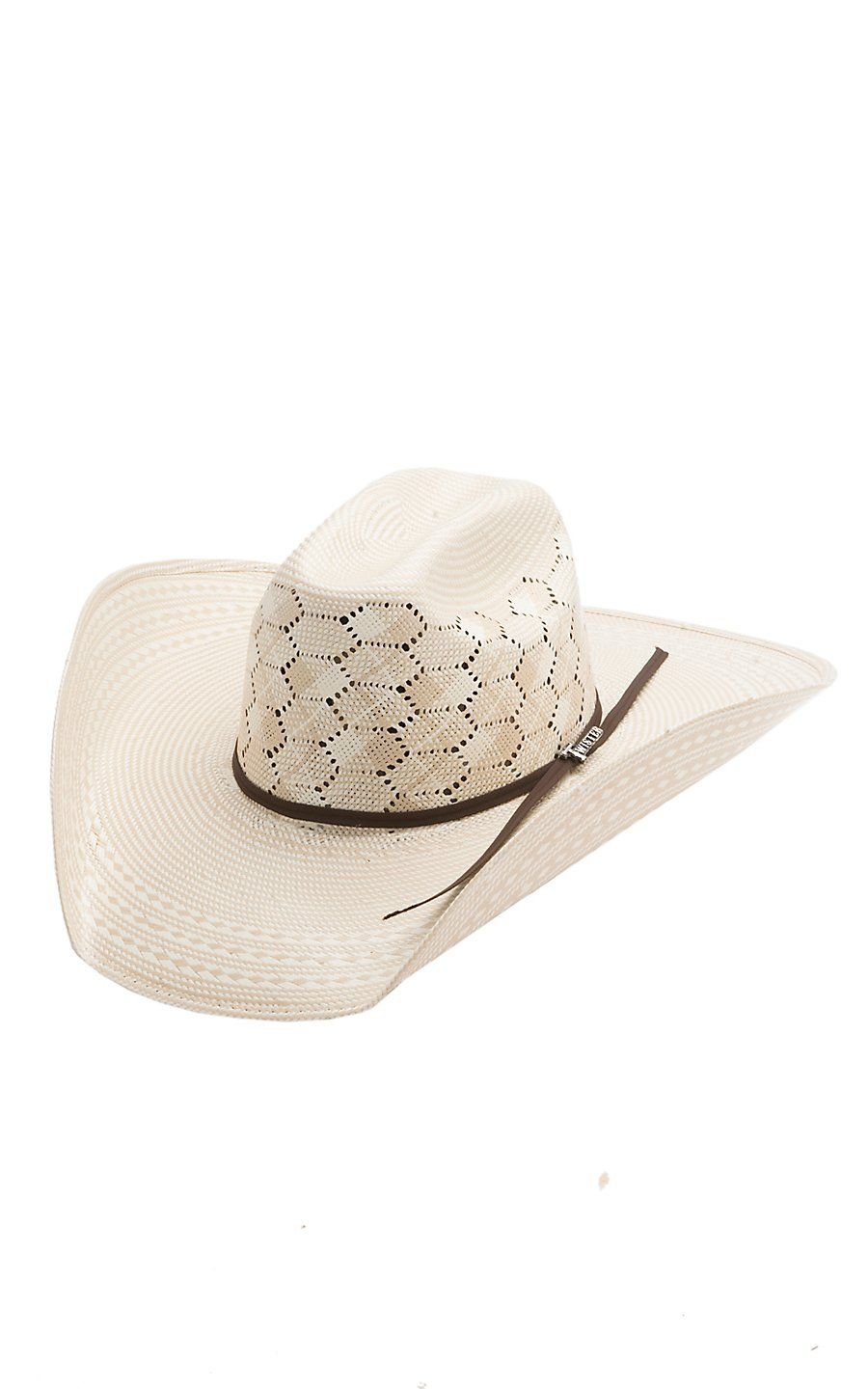 90fc21d6c32 Twister 10X Two Tone Hex Vent Straw Cowboy Hat