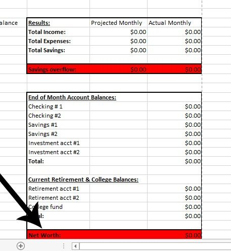 Create a Successful Monthly Budget that Works {FREE Excel - budget spreadsheet template for business