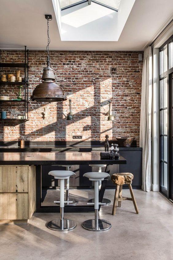 15x Industriële keuken ideeën | HOMEASE #huisinrichting