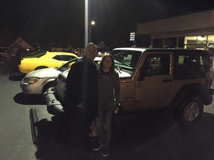 Another Happy Customer Thanks For Choosing Lebanon Chrysler Dodge