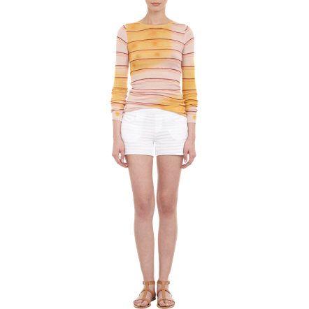 GP Blue Splatter Stripe Pullover Sweater Sale up to 70% off at Barneyswarehouse.com
