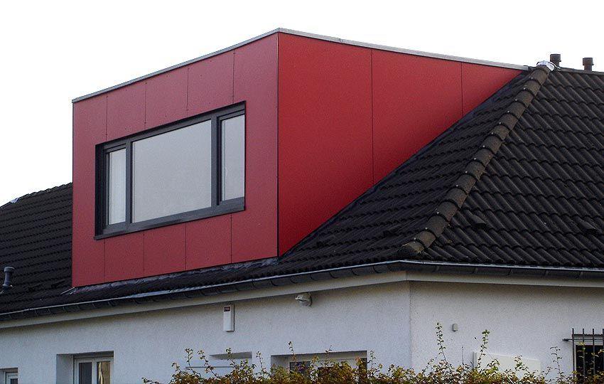 projekte um und anbauten errichtung einer dachgaube. Black Bedroom Furniture Sets. Home Design Ideas