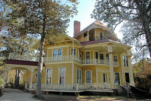 Thomasville GA Thomas County Lapham Patterson House Victorian Eclectic Octagonal