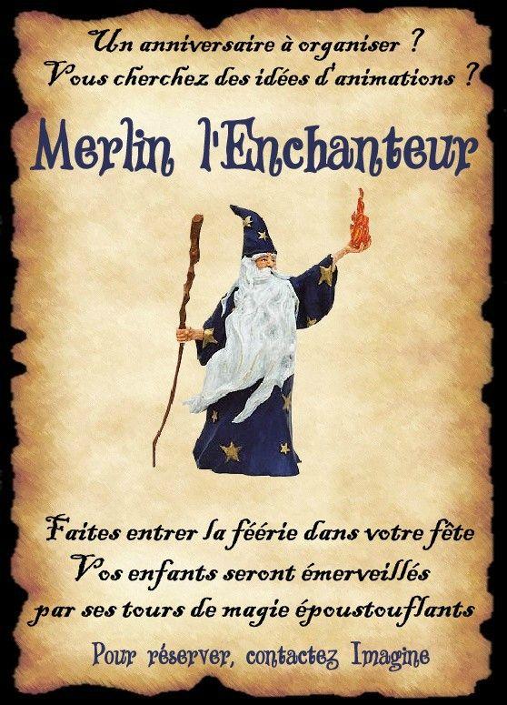 Affiche merlin monde elfique anniversaire a na 2018 - Jeux de sorciere potion magique gratuit ...