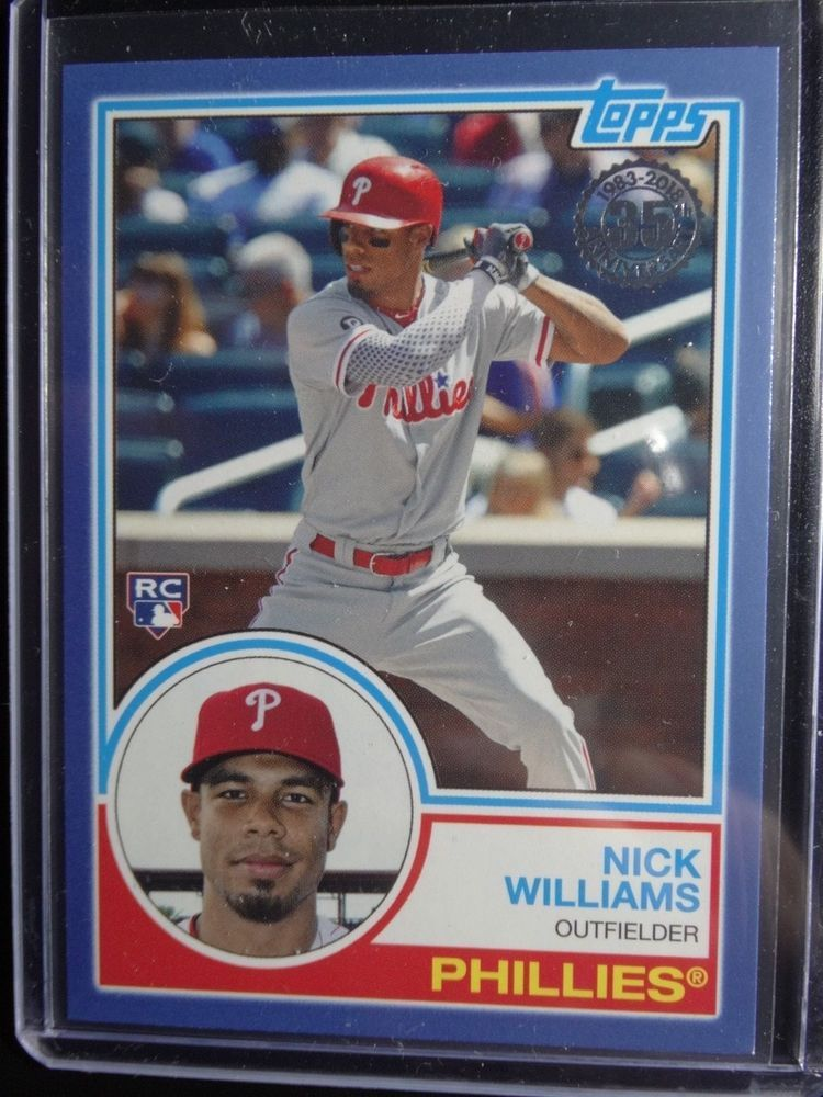 Details About 2018 Topps Series 2 83 24 Nick Williams Rc