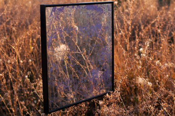 Shabby chic square distressed wall decor round by frugalfunk, $37.00