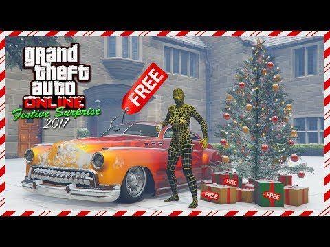 Gta 5 Christmas.Cool Gta Online Festive Surprise 2017 Dlc Free Vehicle