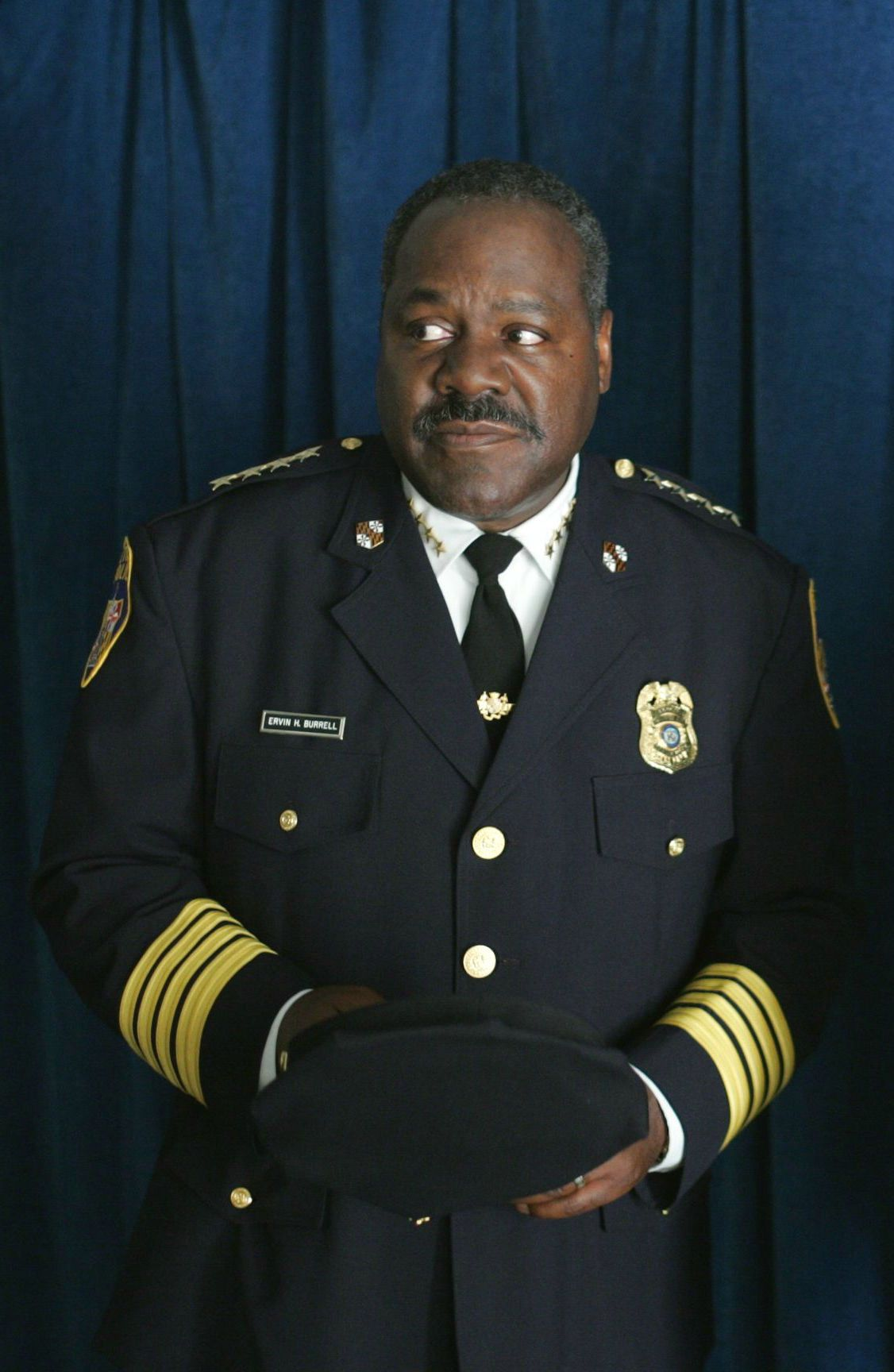 Frankie Faison as Commissioner Ervin Burrell in The Wire. Ervin ...
