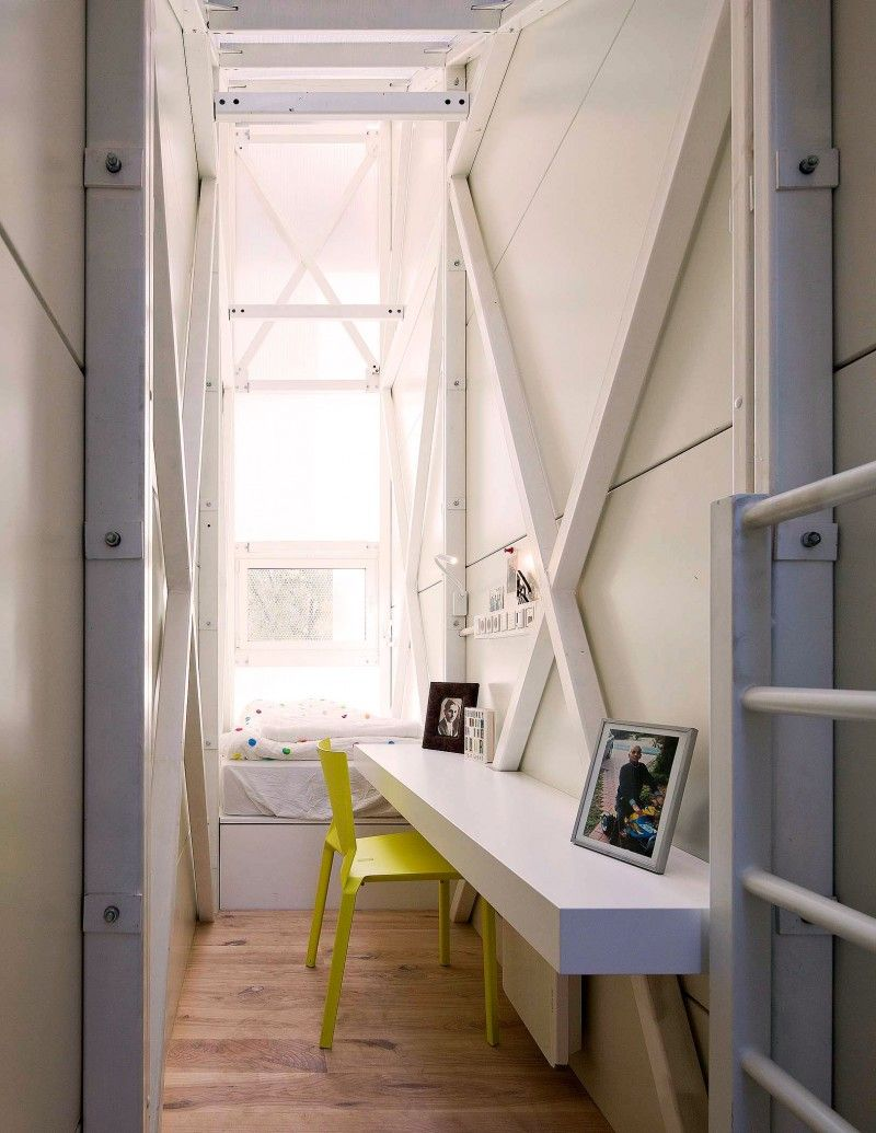 The Five Foot Wide Keret House By Centrala Is Now Reality Narrow House House Houses In Poland