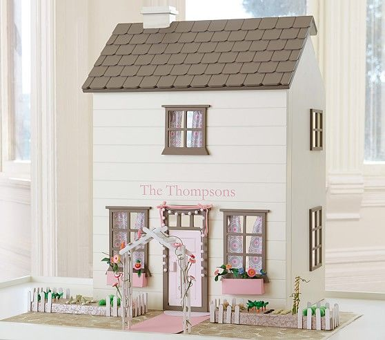 kids dollhouse furniture. Westport Dollhouse White | Pottery Barn Kids Furniture
