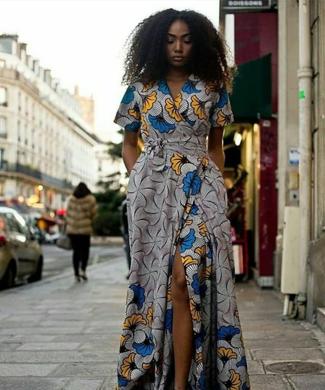 30 Best Kitenge Designs For Long Dresses 2020 Kitenge Styles Kitenge Designs Long Black Maxi Dress African Fashion Dresses