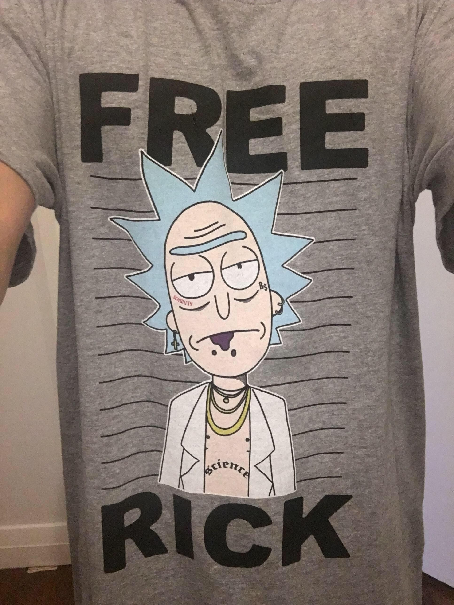 Wubba lubba dub dub get schwifty by avshirtdesigns my brother got me this i think its pretty neat rickandmorty rick picklerick