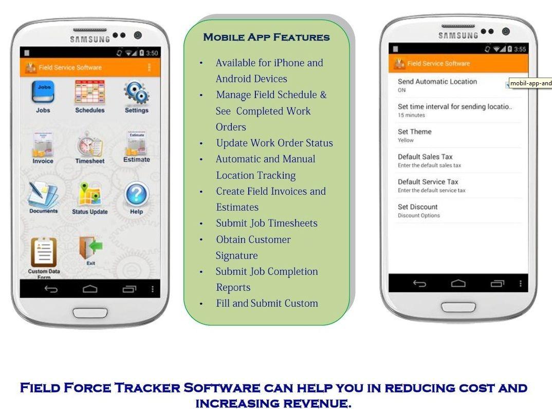 Field Force Tracker is the Enterprise Field Service