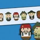 cartoon chibi cross stitch pattern - Google Search