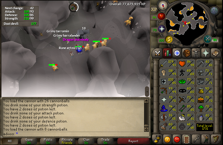 Childhood dream furfilled - Dragon chain drop from dust devils..