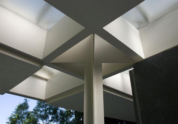 Skylights In The Miller House Eero Saarinen Architecture Miller Homes Eero Saarinen