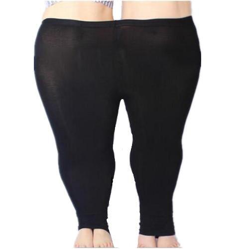 Colorful Modal Big Leggings Women Summer Pants Plus Size Jeans Leggings  Candy Color Leggings Big Women b5fd1f92f270