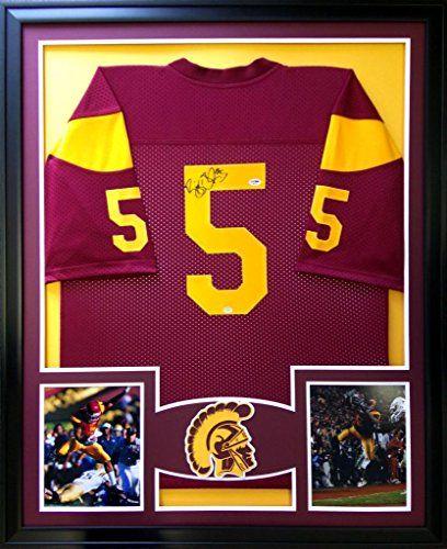 d5c17809b Reggie Bush Framed Jersey Signed PSA DNA COA Autographed USC Trojans Mister  Mancave http