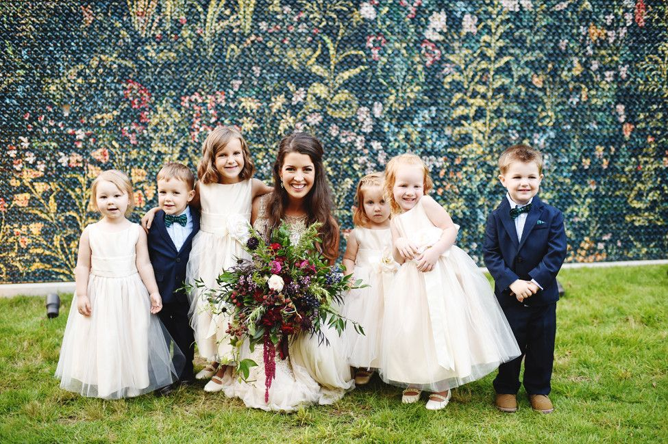 Children Add So Much Laughter And Joy To Any Ceremony Lauren Leatherby David Justiniano In Bentonvil Wedding Northwest Arkansas Weddings Arkansas Wedding