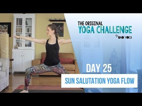 The Original Yoga Challenge - Day 1 - Let's Get Started! - YouTube