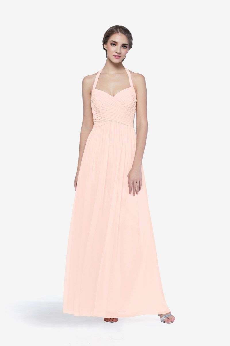 Reed Gown, Sweetheart Halter Gown in Chiffon | Bridal Veil Fashions ...