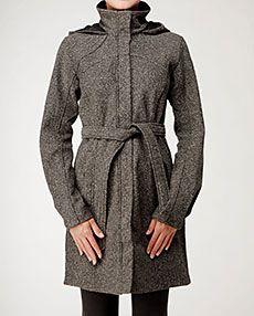 4db49bf098 Lululemon apres sports (yoga) jacket brown tweed | Lululemon Coats ...