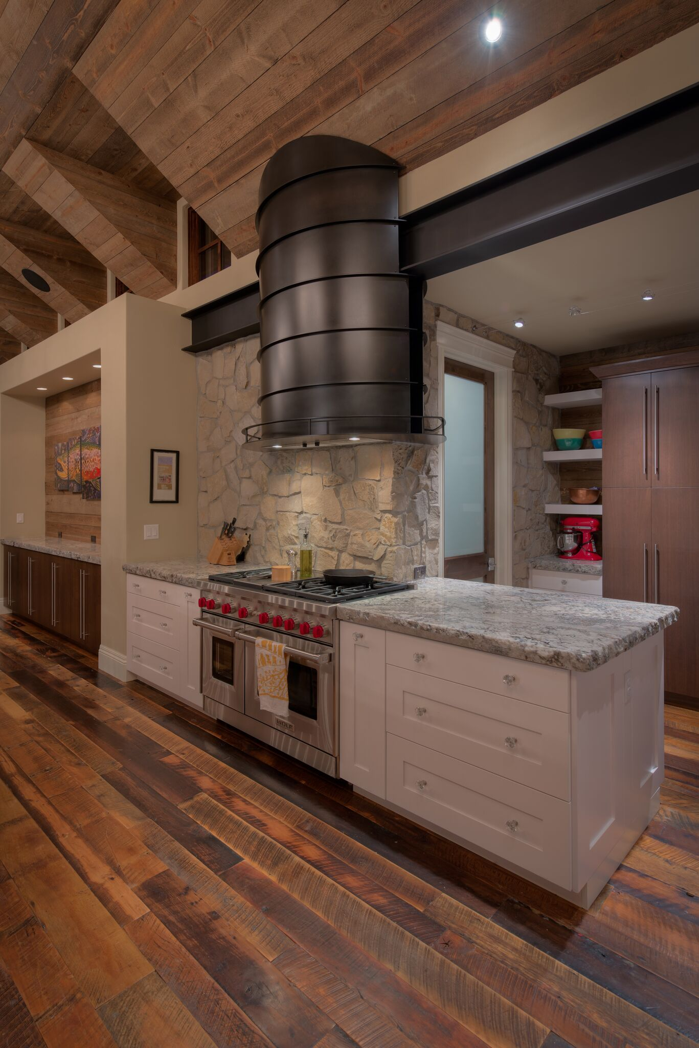 Basalt Kitchen Vent In The Rustic