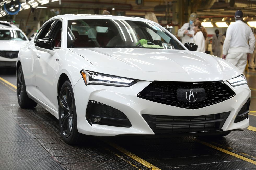 2021 Acura Tlx Sports Sedan Starts Production Acura Tlx Sports Sedan Acura