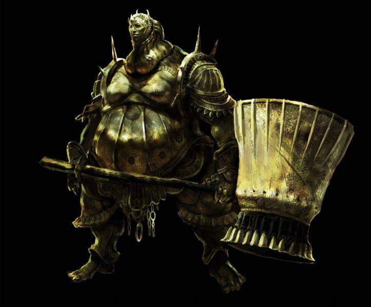 Dark Souls Concept Art Dark Souls Guerreros Caballeros