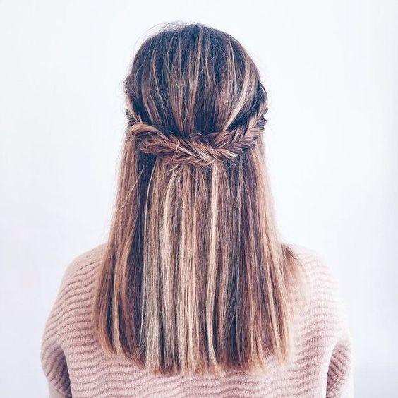 10 Super easy Trendy hairstyles for school | School hairstyles ...