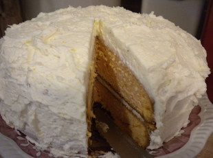 Moist Creamy Citrus Cake With Orange Buttercream Recipe
