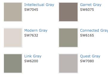 Sherwin Williams Grays Loveee Intellectual Gray Home Ideas