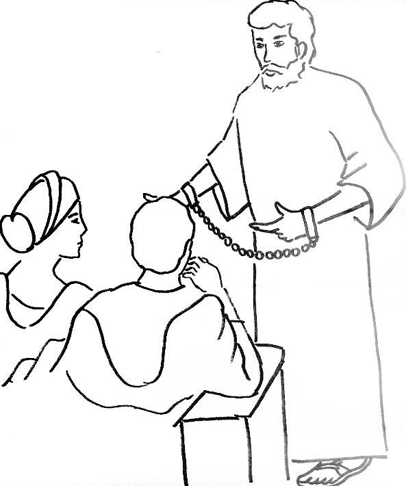 Coloring Page For Paul And King Agrippa Sunday School Coloring