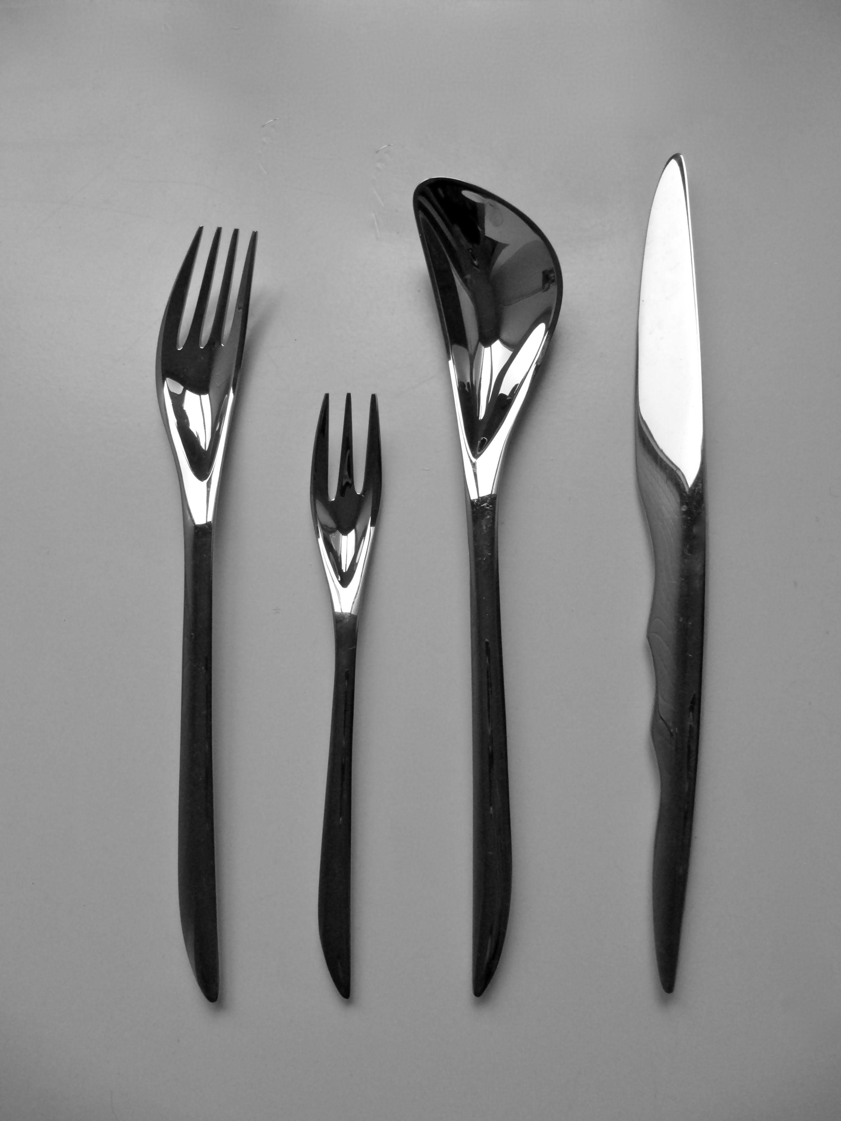 zaha hadid zaha 2007 producer wmf cuillère couteau