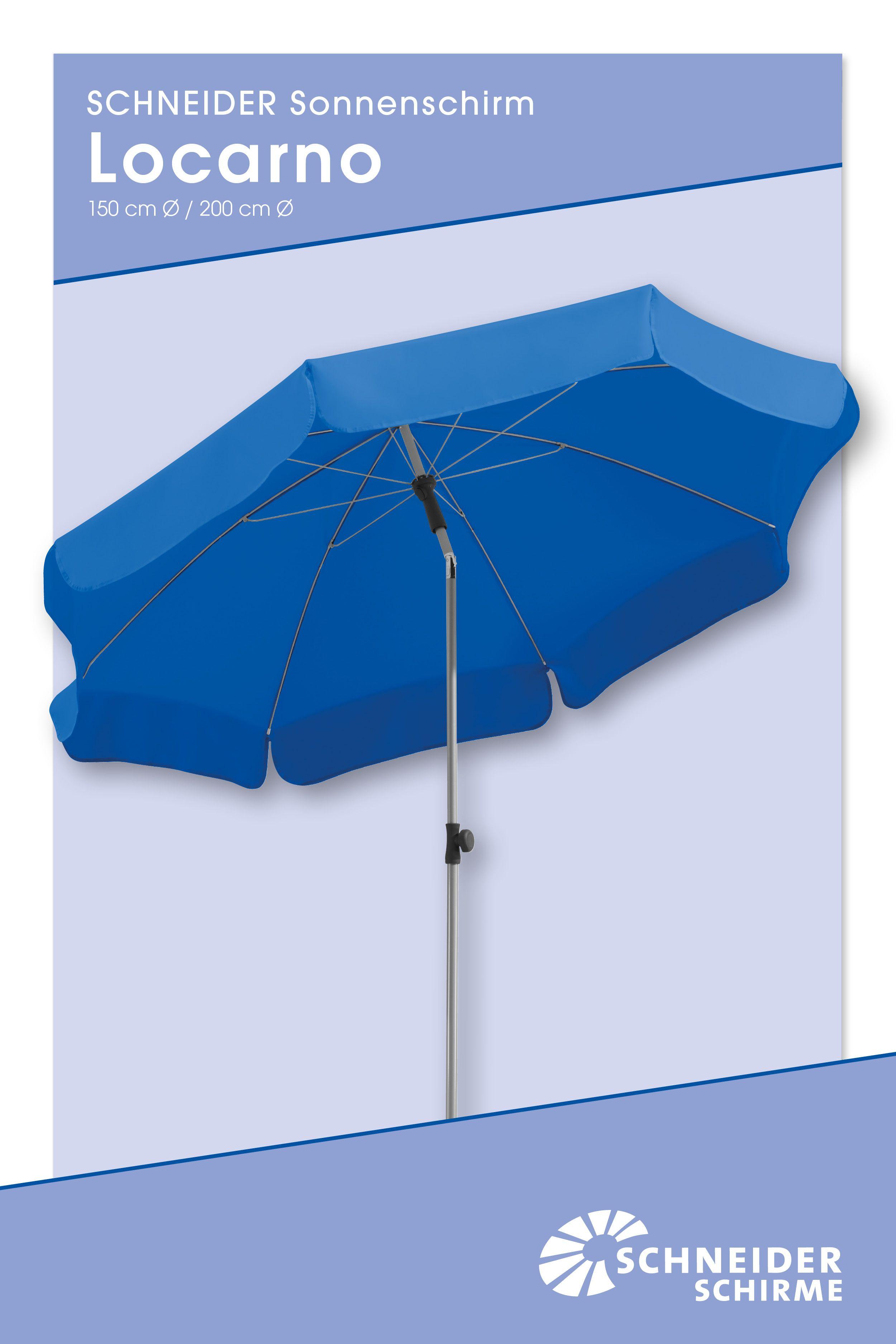 Locarno 150 Bzw 200 Cm O In 2020 Sonnenschirm Locarno Schirm