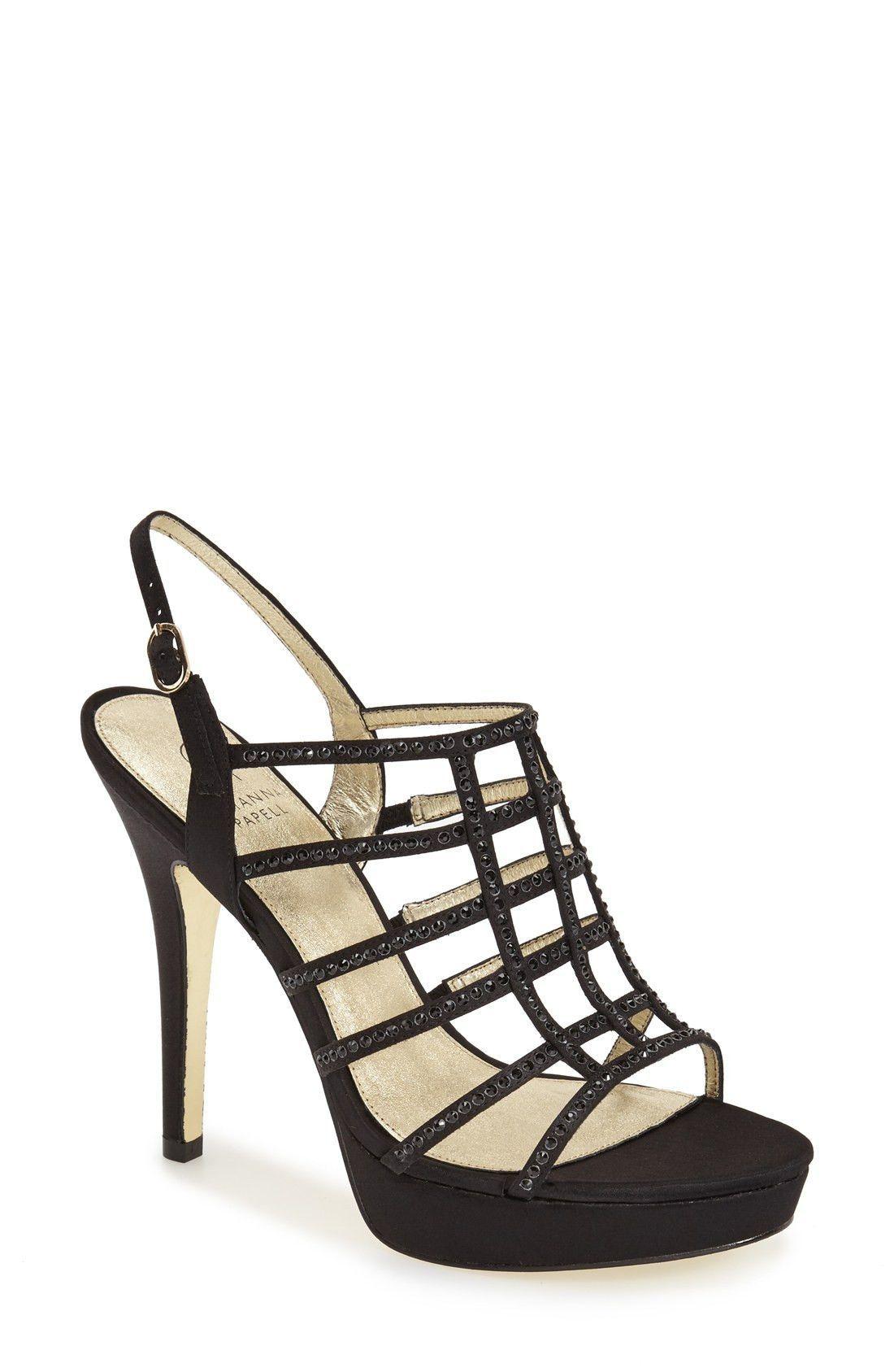18ebebb2a025 Adrianna Papell  Maya  Caged Platform Sandal (2 Colors)