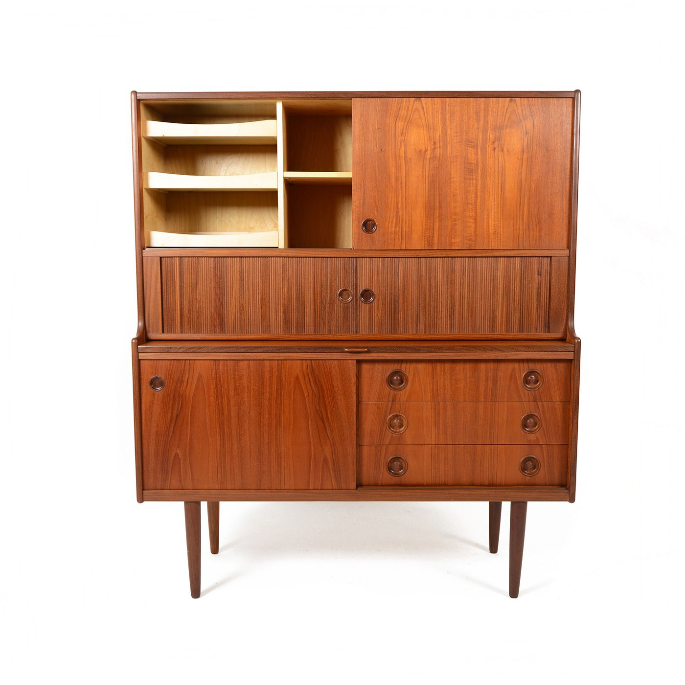 Beau Tall Vintage Credenza