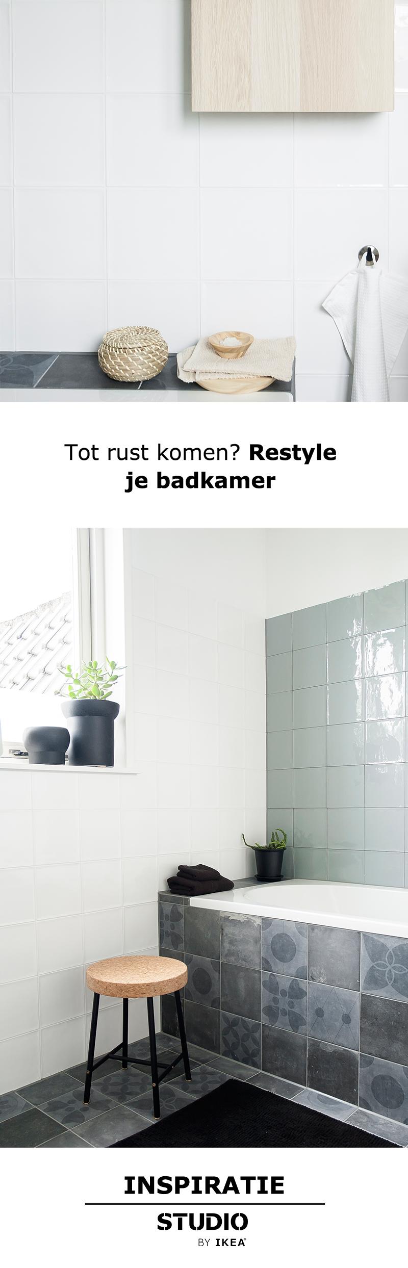 STUDIO by IKEA - Tot rust komen? Restyle je badkamer | #STUDIObyIKEA ...
