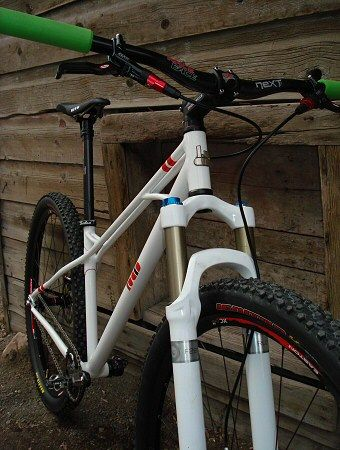 Custom American Made Handcrafted Steel Mountain Bikes From Park