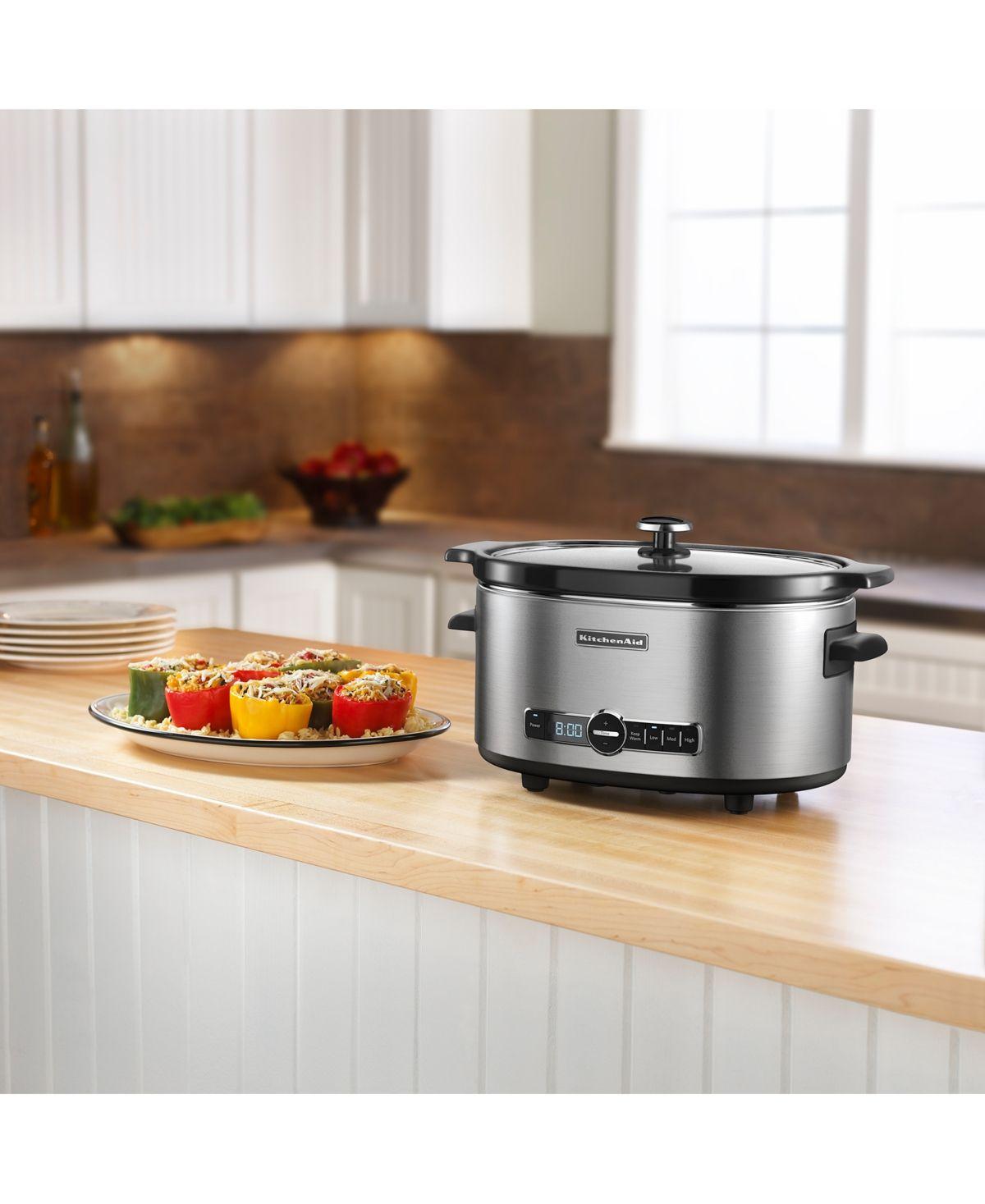 Kitchenaid 6 qt slow cooker ksc6223 reviews small