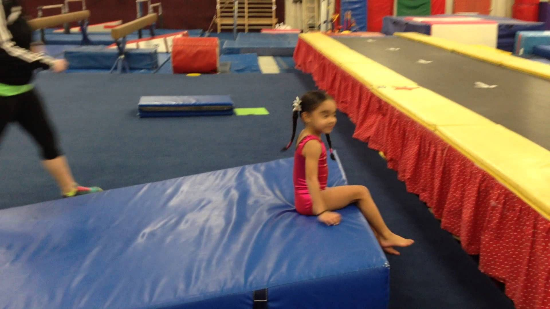 Preschool Gymnastics Backward Roll Back Roll From Side