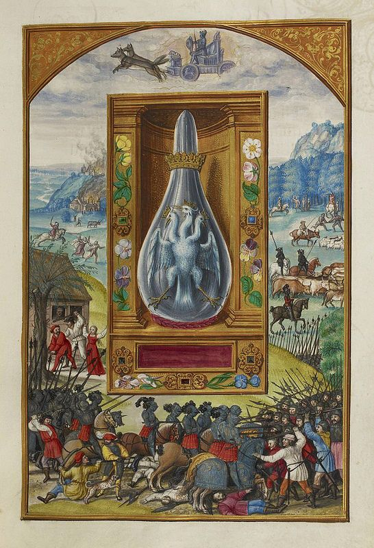 The Surreal Art of Alchemical Diagrams | The Public Domain Review