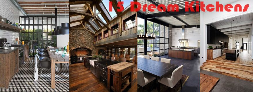 15 MUST SEE DREAM HOME Kitchens [A Cook's Paradise]