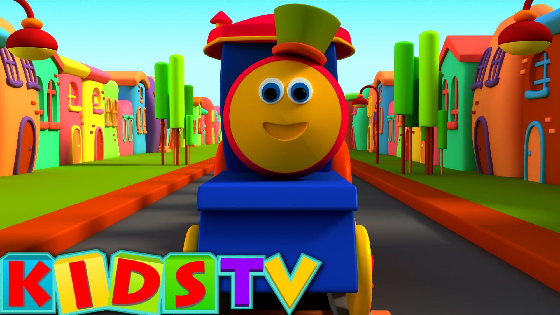 Bob The Train Alphabet Adventure ABC Song Preschool