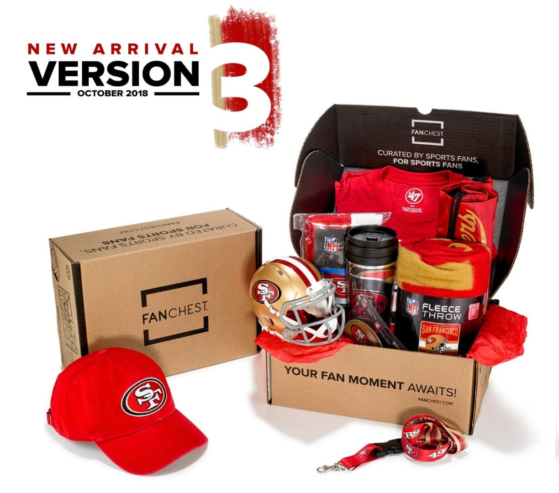 7a718993 San Francisco 49ers FANCHEST Deluxe | Faithfulista's! Who's got it ...