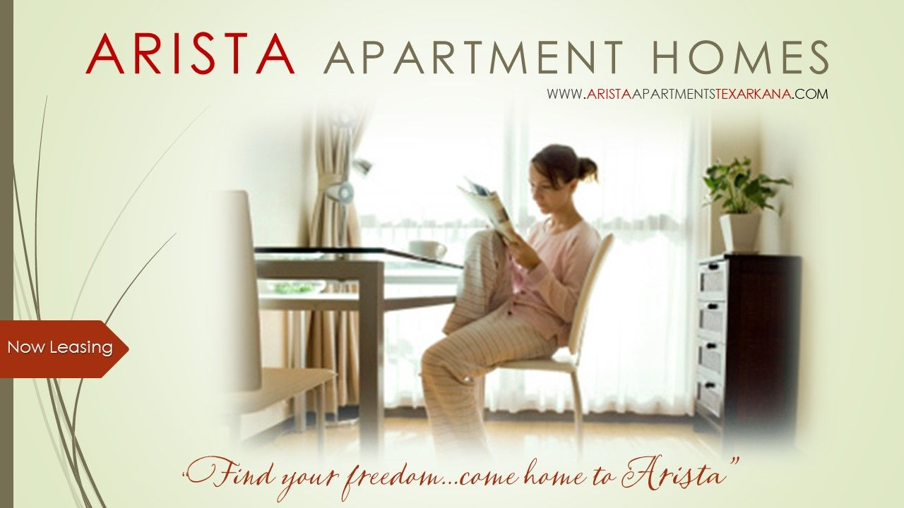 Find Your Freedom At Arista Apartment Homes In Texarkana.  Www.aristapartmentstexarkana.com
