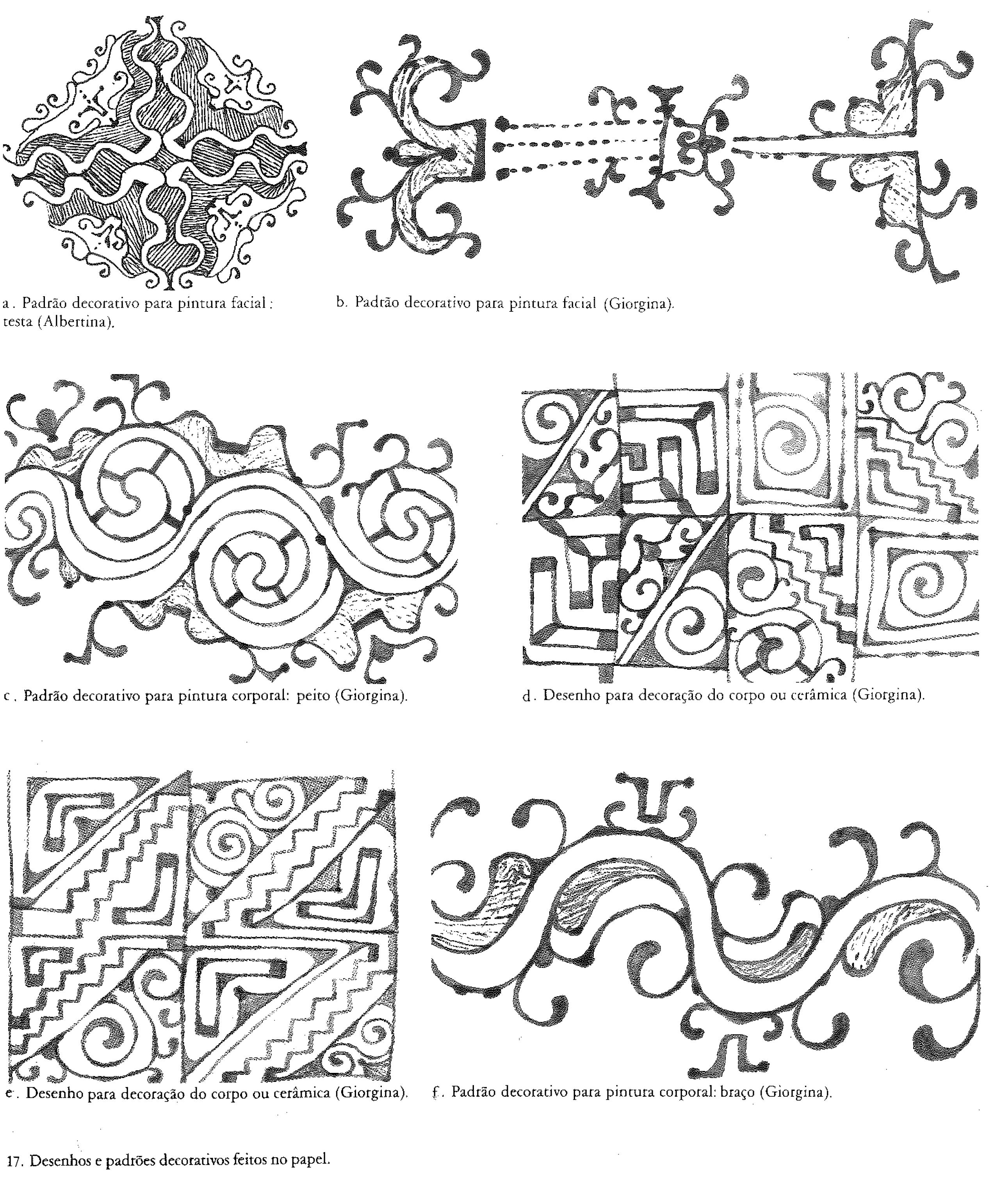 Motivos Decorativos Kadiweu In Vidal Grafismo Indigena