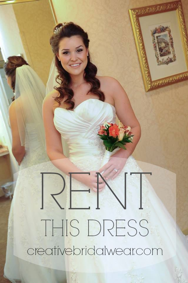RENT this gorgeous dress at Creative Bridal Wear http ...