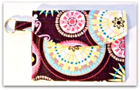 Sew Simple Key Fob Wallet - PDF Sewing Pattern   Stocking Stuffers ...